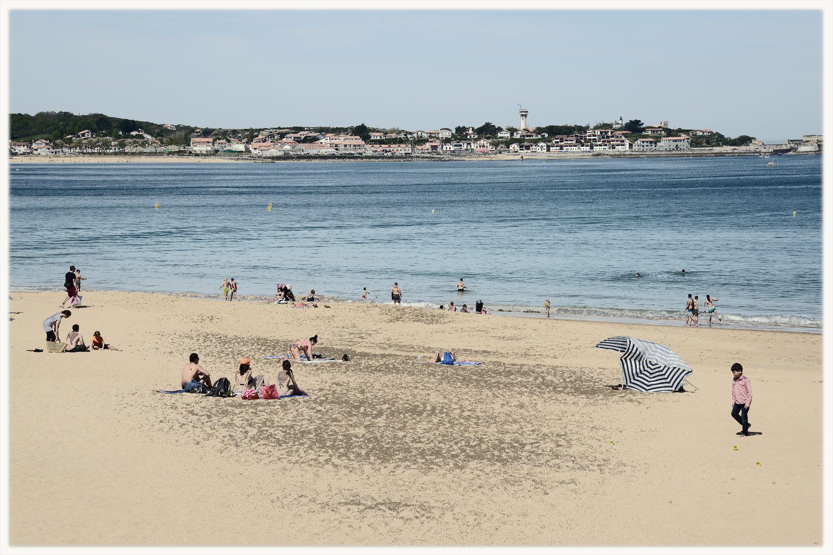 Hendaye la plage
