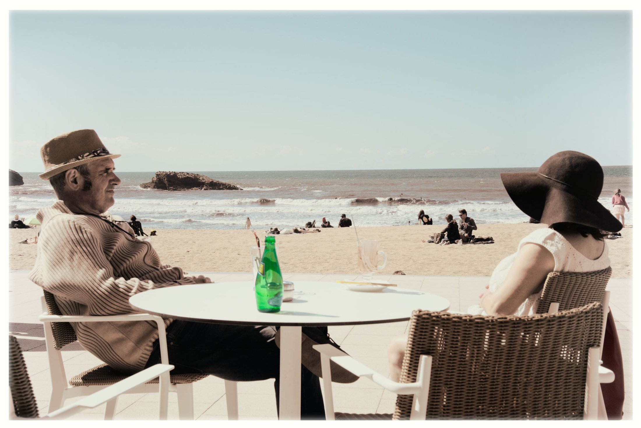 Prendre un verre la grande plage